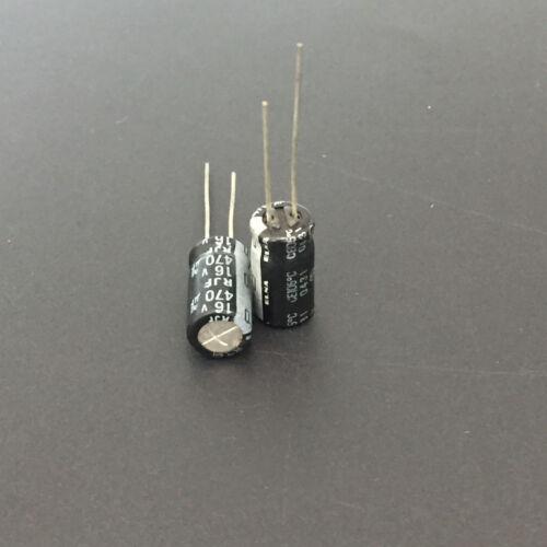 10pcs 470uF 16V Japan ELNA RJF 16V470uF Low Impedance Audio Capacitor 8X15mm