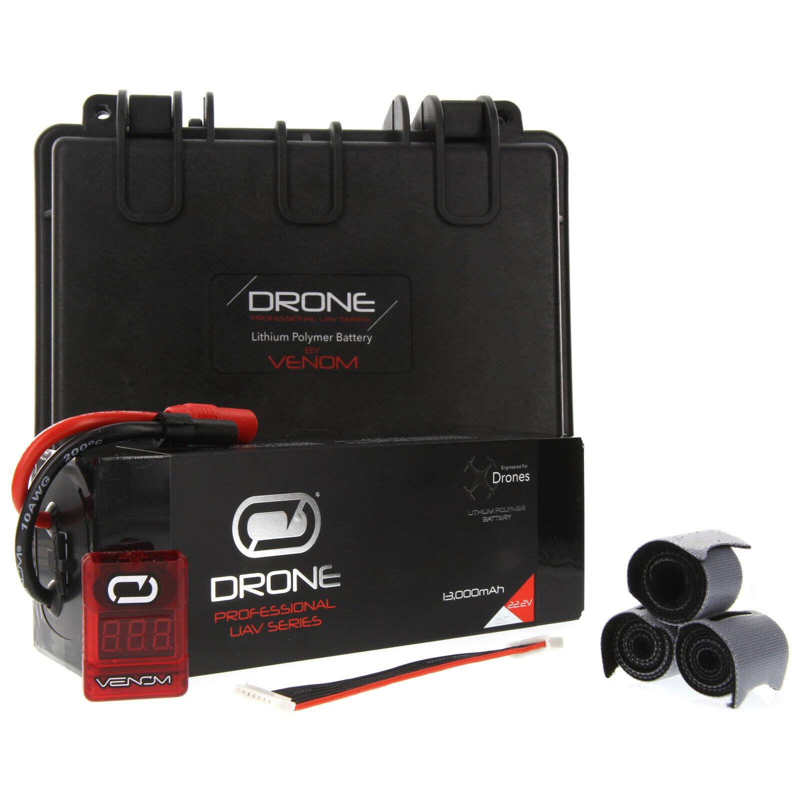 Venom 15C 6S 13000mAh 22.2V LiPo Drone Pro  Battery   Align 480L  grande sconto