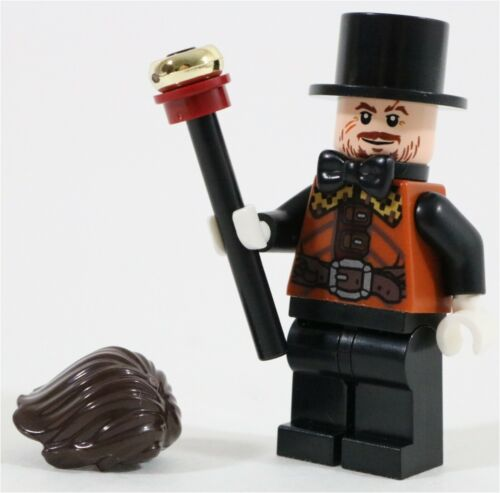 LEGO MAD HATTER MINIFIGURE GOTHAM DC SUPERHEROES MADE OF GENUINE LEGO PARTS
