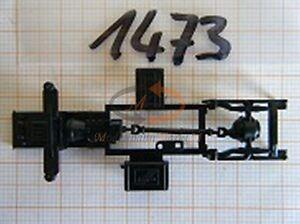 10x ALBEDO Ersatzteil Ladegut LKW Rahmen UT Chassis Bodengruppe H0 1:87 - 1473