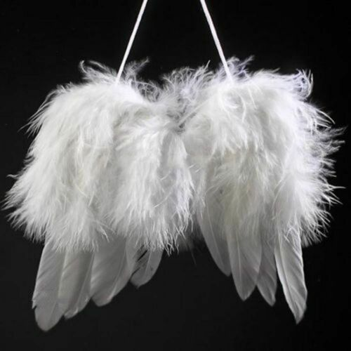 Decoration Baby Photography Props Angel Wings Wedding Ornament White Feather