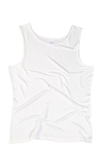 Achselhemd 48 Damen Unterhemd SUPERIOR NATURALS 100/% Seide Natur XL