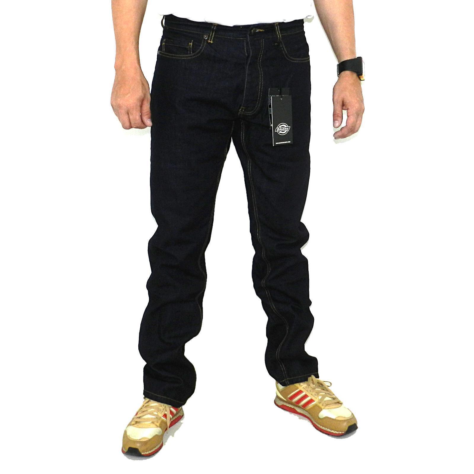 Dickies Michigan Jeans Herren Hose Regular Regular Regular Fit Farbe rinsed 14044 71452f