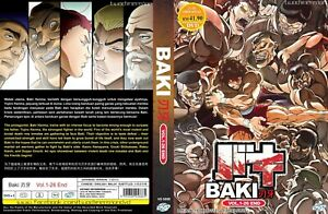 Details about ANIME DVD~Baki 2018(1-26End)English subtitle&All region FREE  SHIPPING+GIFT