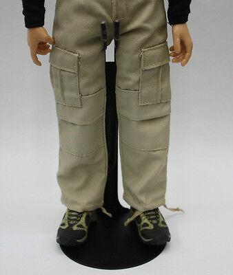 ZYToys 1//6 Waist U Type Display Stand F 12-inch Figure Adjustable Height Black