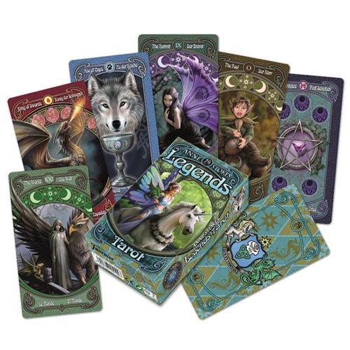 Carte Tarocchi Anne Stokes Legends Tarot
