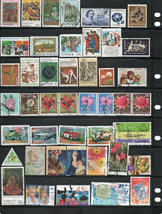 Australian-stamp-collection-45-stamps-Free-postage-Australia-A1