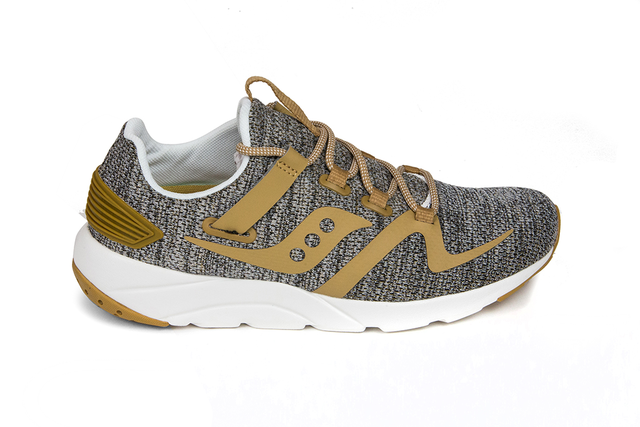 Saucony Grid 9000 MOD in Tan/Tan S70411-1 Brand New in Box Free Shipping