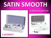 Jilbere Satin Smooth Nail Profiler Cordless Manicure Pedicure Buffing File Tool
