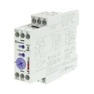 1 x finder multi function time delay relay, 0 05 10 min, 0 05 10 simage is loading 1 x finder multi function time delay relay