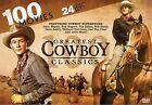100 Greatest Cowboy Classics (DVD, 2013, 24-Disc Set)