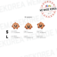 BT21-Baby-Character-Wappen-Badge-S-amp-L-Size-Official-K-POP-Authentic-Goods miniature 11
