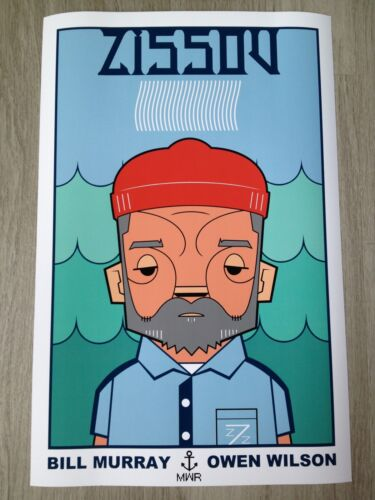 "The Life Aquatic Zissou 24/""x36/"" poster print"