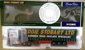 Corgi-CC12901-Scania-Topline-Curtainside-Eddie-Stobart-Ltd-Ed-No-0003-of-6700