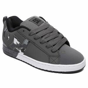 DC-Shoes-Men-039-s-Court-Graffik-SQ-Low-Top-Sneaker-Shoes-Gray-Camo-Footwear-Skate