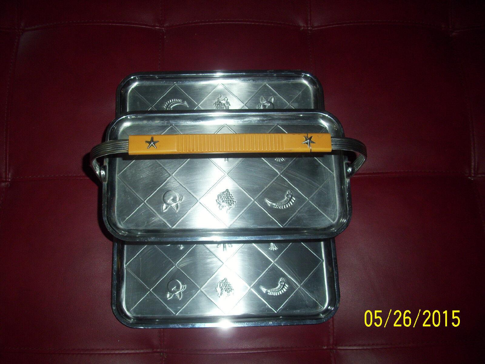 Old vintage art deco  bakelite folding tray RARE VINTAGE