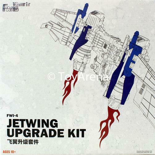 Fans Want It FWI-4 Jetwing  Upgrade Kit for Revenge of the Ftuttien Leader Optimus  risparmiare sulla liquidazione