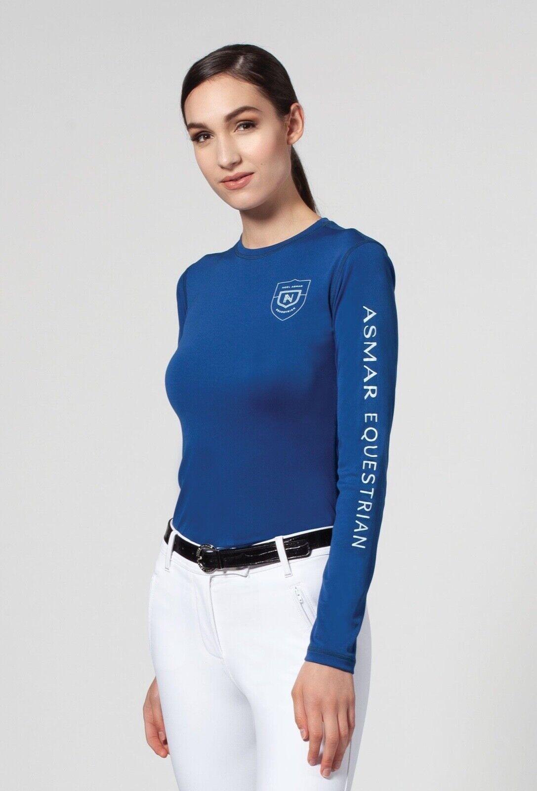 Noel Asmar Damas sostenible con Logotipo Mangas Largas Camiseta-diferentes Colors Y Tamaños