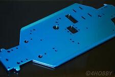 Chassis 06056 Rahmen Blau Karosserie Alu Upgrade Part Aluminium RC 1/10 Platte