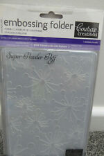 COUTURE CREATIONS EMBOSSING FOLDER Adagio 7 x 5 inches