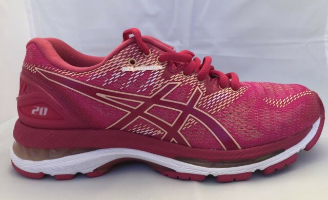 ASICS Gel-Nimbus 20 Women's Size 6 Running Shoe Bright Rose T850N