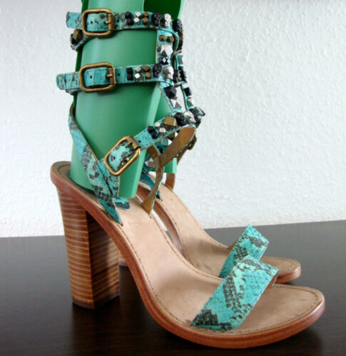 Neu Leather Sandals Gr Damen Sandaletten 37 Ash Schuhe Leder Römersandalen Peace XqZA7v