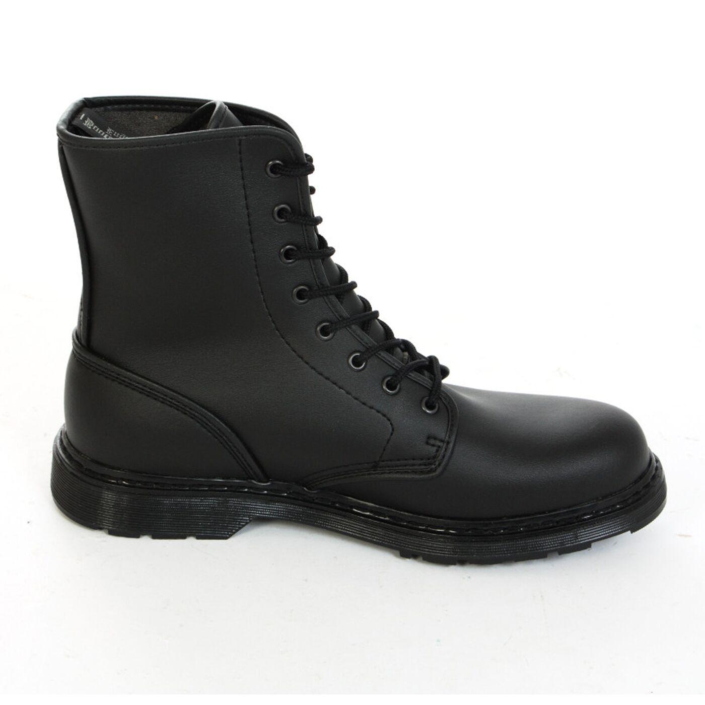 Boots & Braces - easy 8 Loch Vegetarian Black Stiefel Rangers Schwarz