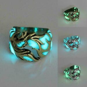 Luminous-Titan-Stahl-im-Dunkeln-leuchten-Ring-Frauen-Maenner-Ringe-Schmuck-E-B2O9