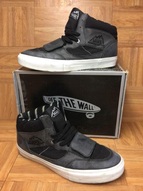 rare vans mt edition perf black leather sz 13 men s shoes skateboarding kicks for sale online ebay