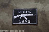 Molon Labe Tactical Patch, Velcro® Brand Back