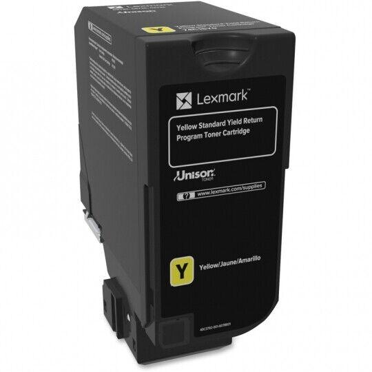 Lexmark Unison Original Toner Cartridge - Yellow 74C1SY0 -OEM