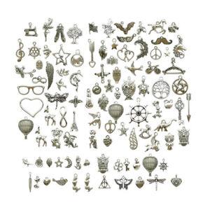 100pcs-pendentifs-de-charmes-mixtes-en-argent-tibetain-pour-la-fabrication-de