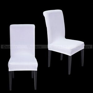 NEW-Stretch-Dining-Chair-Covers-Chair-Protector-Slipcover-Decor-Spandex-14Colors