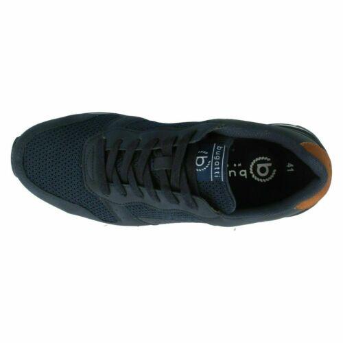323-30805-5900 Bugatti Pour Homme Baskets Bleu Marine Taille 7-11