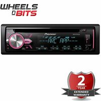 Pioneer Deh-x2900ui Car Cd Stereo Usb Aux Mixtrax Ipod Iphone Android Control