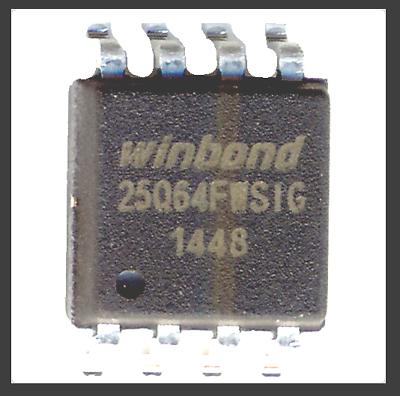ASUS K556UF NOTEBOOK BIOS firmware chip