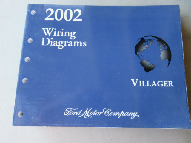 2002 Mercury Villager Electrical Wiring Diagram