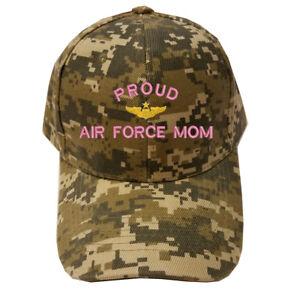 a463b987d83 DIGITAL CAMO CAMOUFLAGE PROUD USAF MOM U.S. AIR FORCE MOM LOGO ...