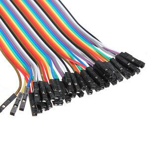 40x-20cm-Male-Female-jumper-wire-cable-Kabel-Steckbruecken-Drahtbruecken-Arduino