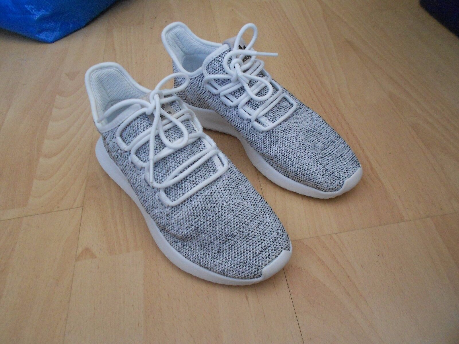ADIDAS ORIGINALS TUBULAR SHADOW KNIT  TRAINERS UK SIZE 5.5 - IN VGC