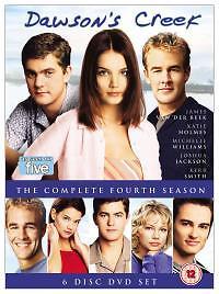 1 of 1 - Dawson's Creek - Series 4 (DVD, 2005, 6-Disc Set, Box Set