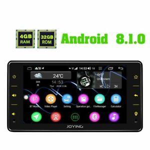 JOYING-1-Din-Autoradio-mit-Bluetooth-Zlink-DSP-Android8-1-Oreo-4GB-RAM-Head-Unit