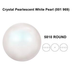 CRYSTAL-PEARLESCENT-WHITE-PEARL-001-969-Genuine-Swarovski-5810-Round-All-Size