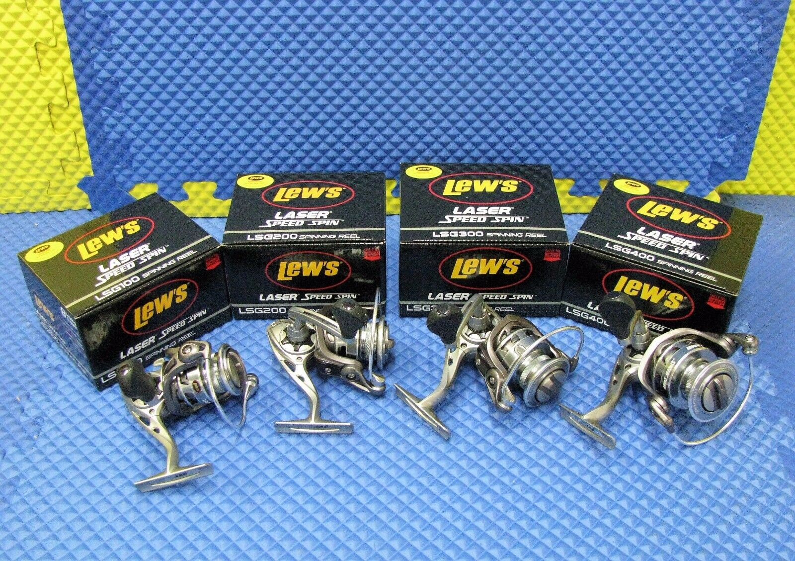 Lew's Laser G Speed Spin Spinning Reels  LSG Series CHOOSE YOUR MODEL