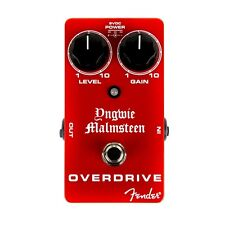 Fender Yngwie Malmsteen Overdrive Effect Pedal/Stomp Box for Guitar 023-4507-000