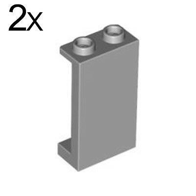 Blue 1x2x3 Panel-Hollow Studs w//side support 20 ct *NEW* Lego Transparent Lt