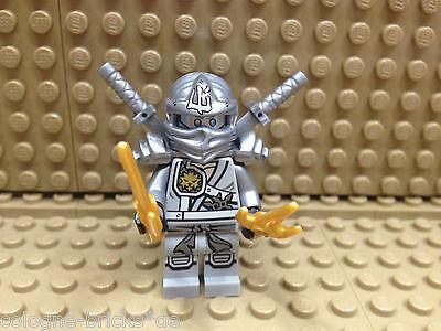 Flight Tracker Lego® Ninjago Figur Titan Zane Silber Inkl. Vier Waffen 70748 Komplette Artikelauswahl