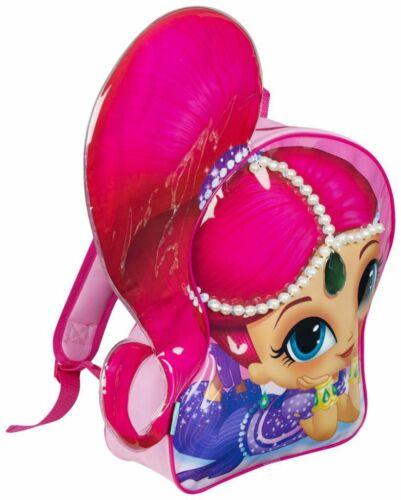 Shimmer Pink Backpack with Jewels Kids Nursery School Gift Bag
