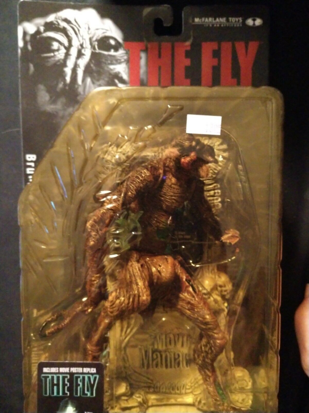McFarlane Movie Maniacs Action Figure Series 3 BRUNDLE FLY (The Fly) new