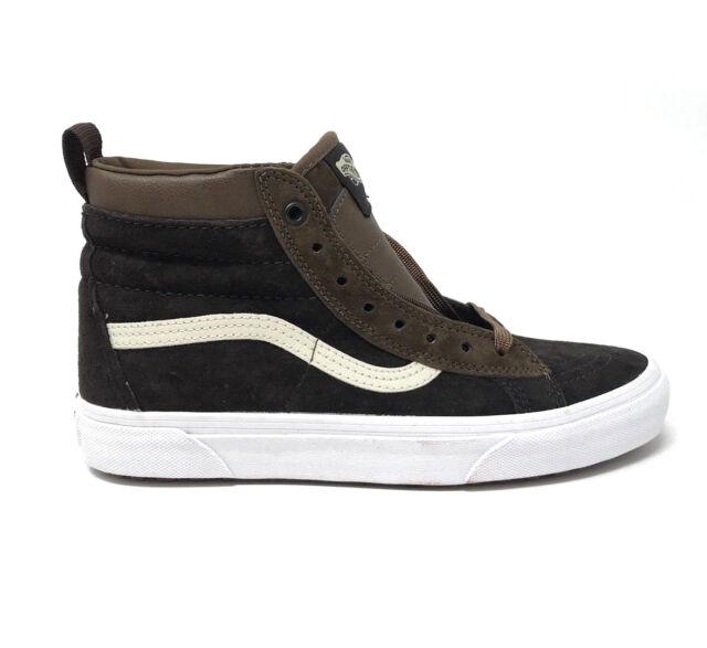 c7f010c7694 Vans Sk8 Hi MTE Dark Earth Seal Brown Men s 7.5 Women  s 9 Skate Shoes